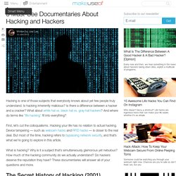 5 Must-See Documentaries About Hacking and Hackers