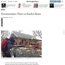 Documentaries in the Wake of Hurricane Sandy