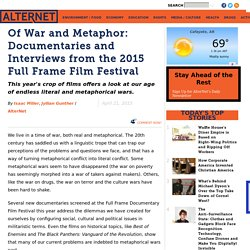 Of War and Metaphor: Documentaries and Interviews from the 2015 Full Frame Film Festival