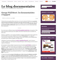 Occupy Wall Street : les documentaristes s'engagent