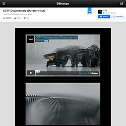 CCTV Documentary (Director's cut) on Behance