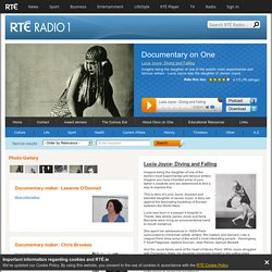 RTÉ Radio 1: Documentary on One - Lucia Joyce- Diving and Falling
