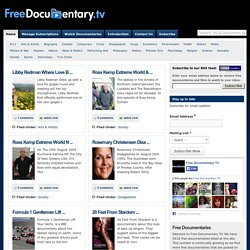 Free Documentary TV - Free Documentaries, Watch Documentaries ...