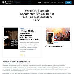 Documentary Tube – Watch Documentaries Online for FREE