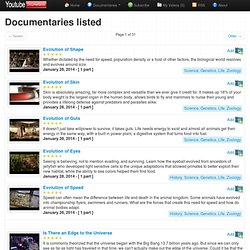 Documentary List - The best documentaries to watch online