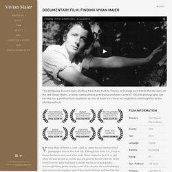 Documentary Film Finding Vivian Maier