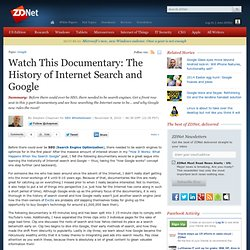 Watch This Documentary: The History of Internet Search and Google