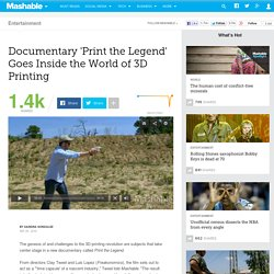 Documentary 'Print the Legend' Goes Inside the World of 3D Printing