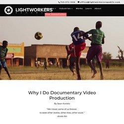 Sean Korbitz Documentary Video Production Feature