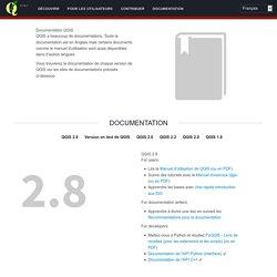 Documentation Qgis - Cartographie