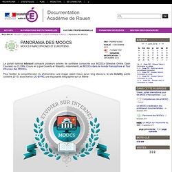 Panorama des MOOCs