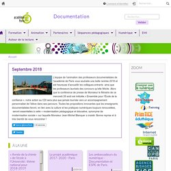 Documentation - Académie de Paris - Accueil