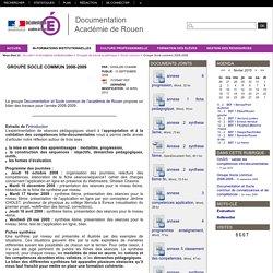 Groupe Socle commun 2008-2009