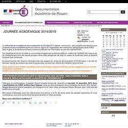 Journée académique 2014/2015