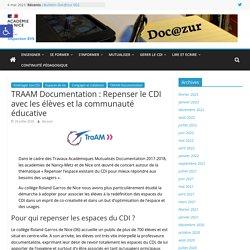 TRAAM Documentation : Repenser le CDI avec les élèves et la communauté éducative – Doc@zur