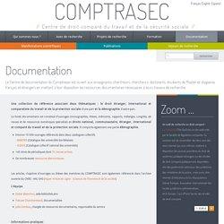 Documentation (Centre de Droit Comparé du Travail et de la Sécurité Sociale)