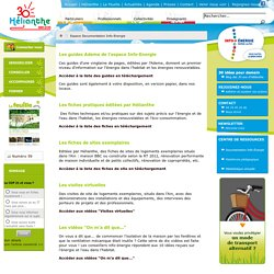 Espace Documentation Info-Energie