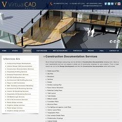 Design documentation services, Construction documentation services