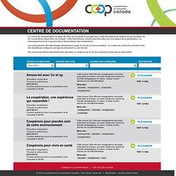 Centre de documentation - Conseil canadien de la coopération et de la mutualité