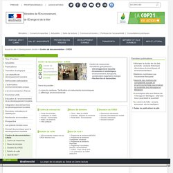 Centre de documentation - CRDD