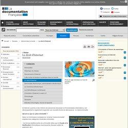 Documentation Française - Le droit d'Internet - Internet dans le monde - Dossiers