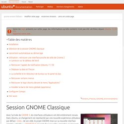 gnome-session-fallback [Documentation Ubuntu Francophone]