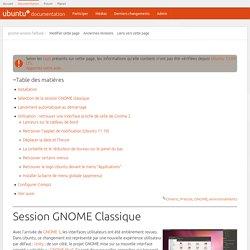 gnome-session-fallback [Documentation Ubuntu Francophone]