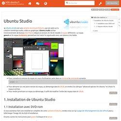 ubuntu_studio - Documentation Ubuntu Francophone
