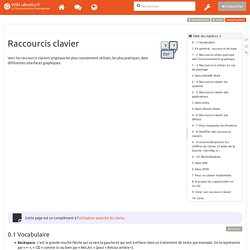 raccourcis_clavier