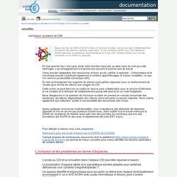 Portail pédagogique : documentation - inclusion scolaire et CDI