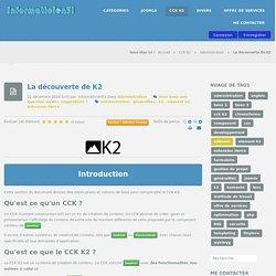documentation informaticien51 - La découverte de K2