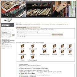 Catalogue Collège BCDI - Sites Internet et ressources numériques