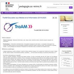 Enseigner Documentation lycée - TraAM Education aux Médias et à l'Information 2019-2020
