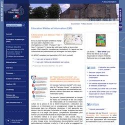 Documentation:Education Médias et Information (EMI)