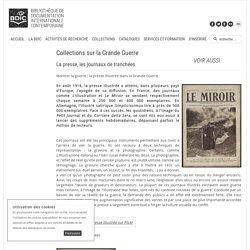 BDIC - Bibliothèque de documentation internationale contemporaine - Presse et journaux de tranchées