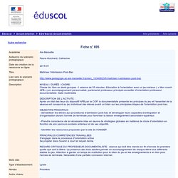 EDU'bases documentation - Ma triser l'Admission Post-Bac