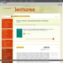 Olivier LeDeuff, La documentation dans le numérique