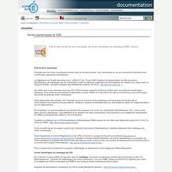documentation - livres numériques et CDI