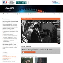 Accueil - Mag Film - Centre National de Documentation Pédagogique