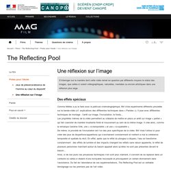 Une réflexion sur l'image - The Reflecting Pool - Mag Film - Centre National de Documentation Pédagogique
