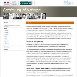 Poètes en résistance-Centre National de Documentation Pédagogique