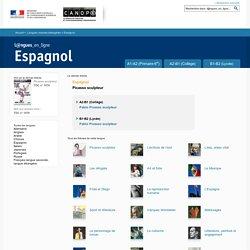 Espagnol - Langues en ligne - Centre National de Documentation Pédagogique