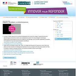 Lien-Les journées de l'innovation-Centre National de Documentation Pédagogique