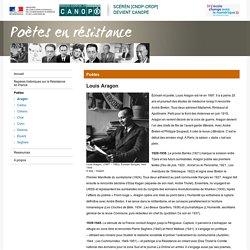 Louis Aragon-Poètes en résistance-Centre National de Documentation Pédagogique