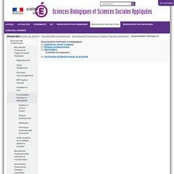 Documentation technique et pédagogique — SBSSA