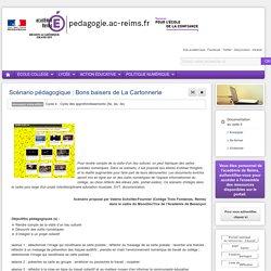 Exemple de séquence : cycle 4 Bons baisers de La Cartonnerie