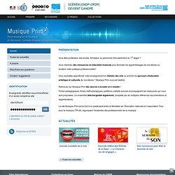 Accueil-Musique prim-Centre National de Documentation Pédagogique