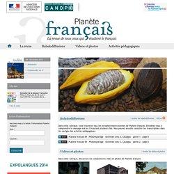 Accueil-Planète Français-Centre National de Documentation Pédagogique