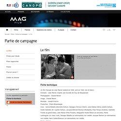 Le film -Partie de campagne-Mag Film-Centre National de Documentation Pédagogique