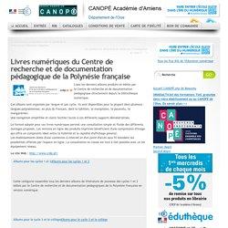 Livres numériques du Centre de recherche et de documentation pédagogique de la Polynésie française
